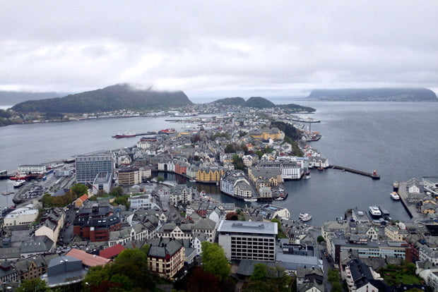 View over Ålesund