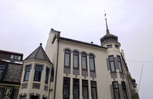 Buildings in Ålesund