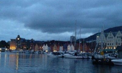 Midnight in Bergen summer