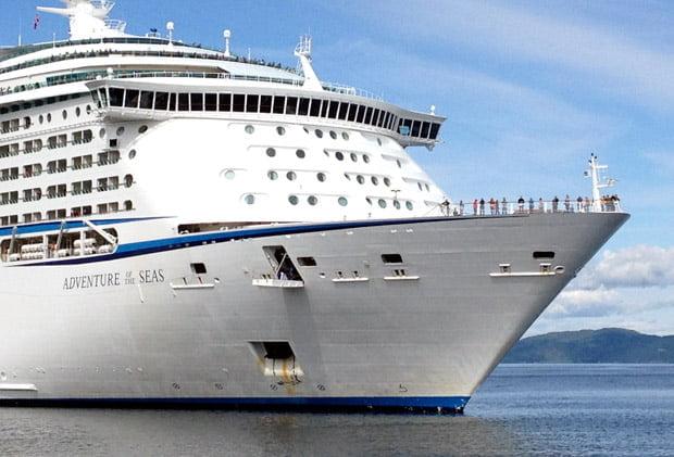 Passengers arriving into Trondheim