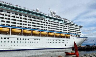 Cruise ship in Trondheim