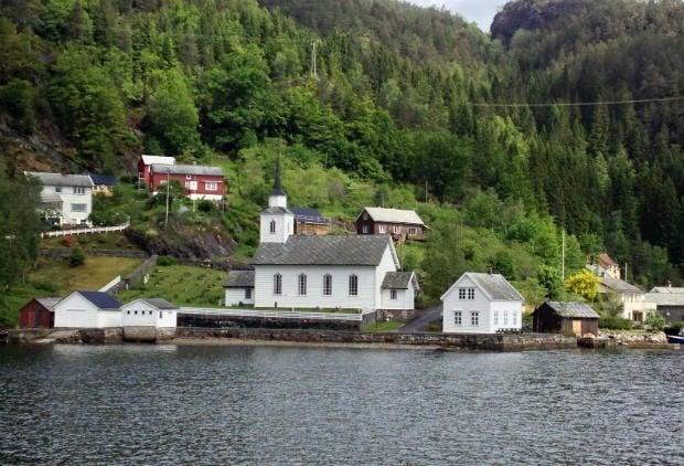 Hordaland fjord community