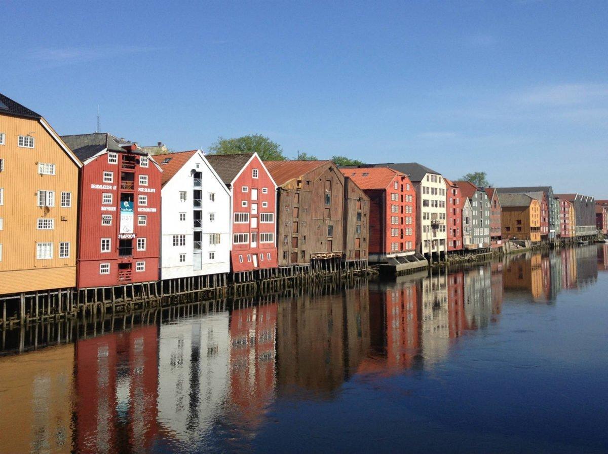 Nidelva river Trondheim