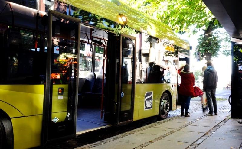 AtB bus in Trondheim