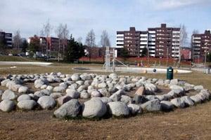 Furuset suburb of Oslo