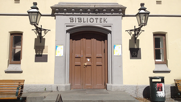 Trondheim library entrance
