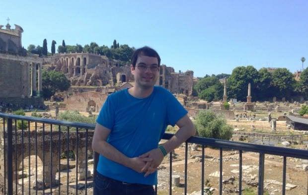 David at The Forum, Rome
