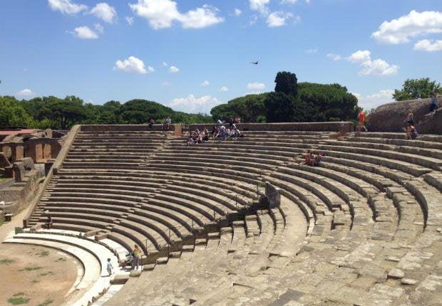 Stadium at Ostia Antica