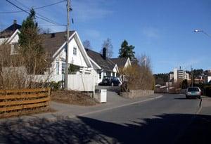 Ullern neighbourhood in Oslo