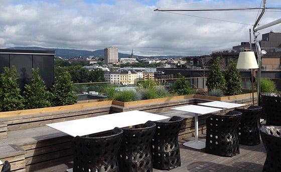 Tjuvholmen roof terrace