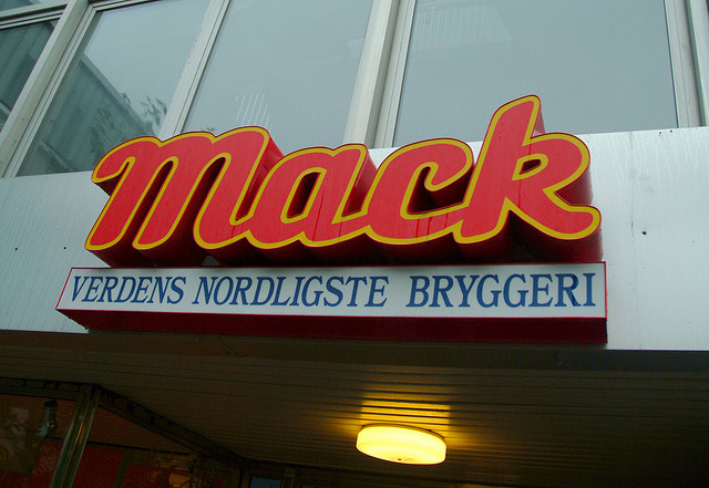 Mack Brewery sign