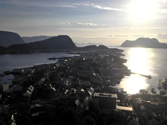 Ålesund sunset