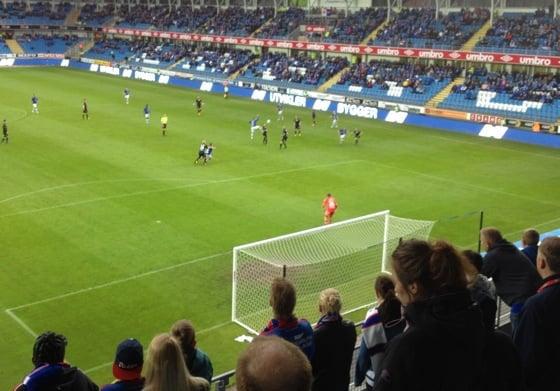 Aker Stadion Molde away end