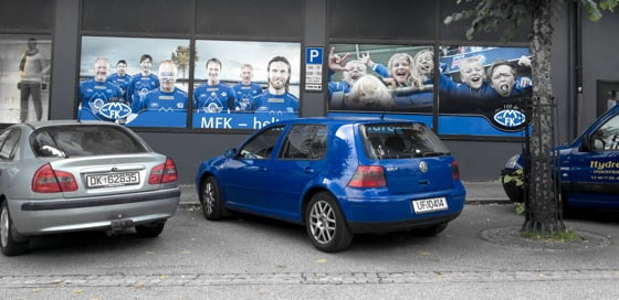 Molde FK banners