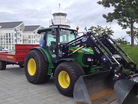 Molde FK club tractor