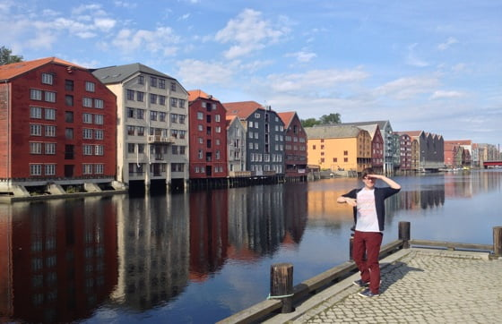 Chris in Trondheim