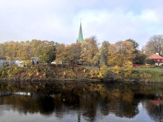 Nidaros in Autumn