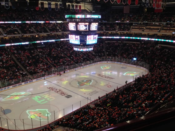 Xcel Energy Center, St. Paul