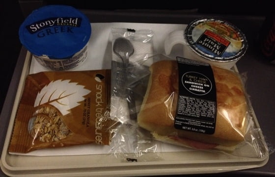 SAS long-haul breakfast