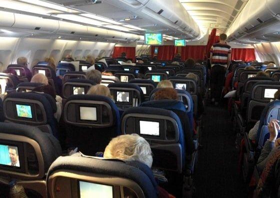 SAS long-haul on board