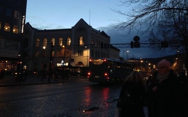 Trondheim in November