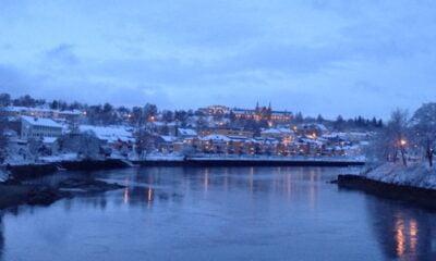 Nidelva Trondheim in December