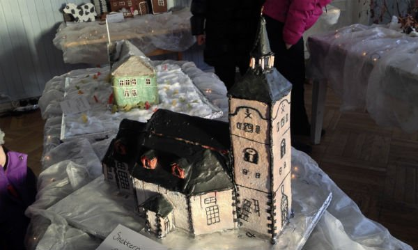 Røros Church in gingerbread