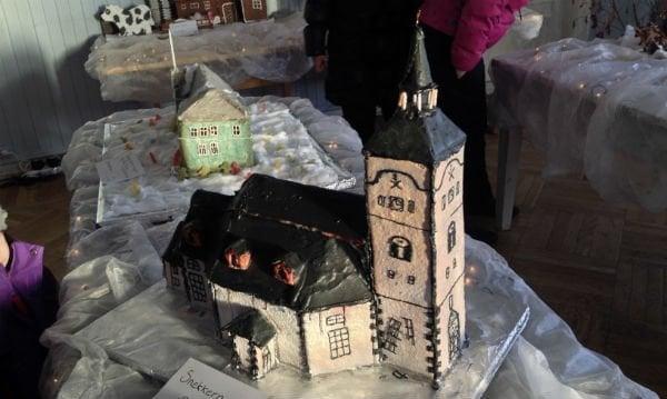 Røros Church in gingerbread