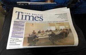 Baltic Times newspaper