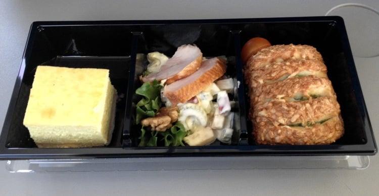Lunch on Estonian Air