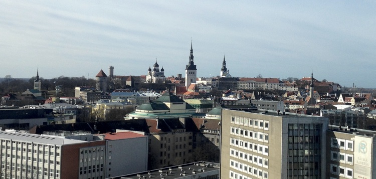 View from Radisson Tallinn
