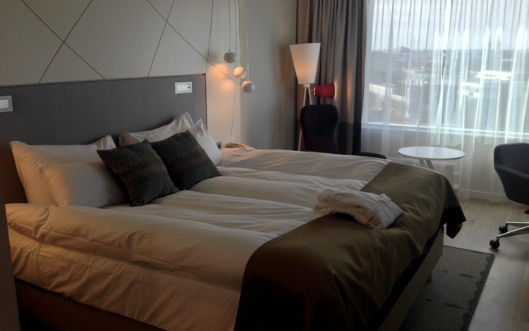 Radisson Tallinn bedroom