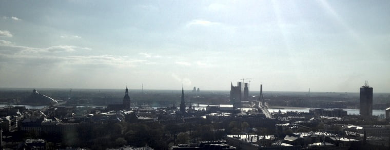 View across Riga