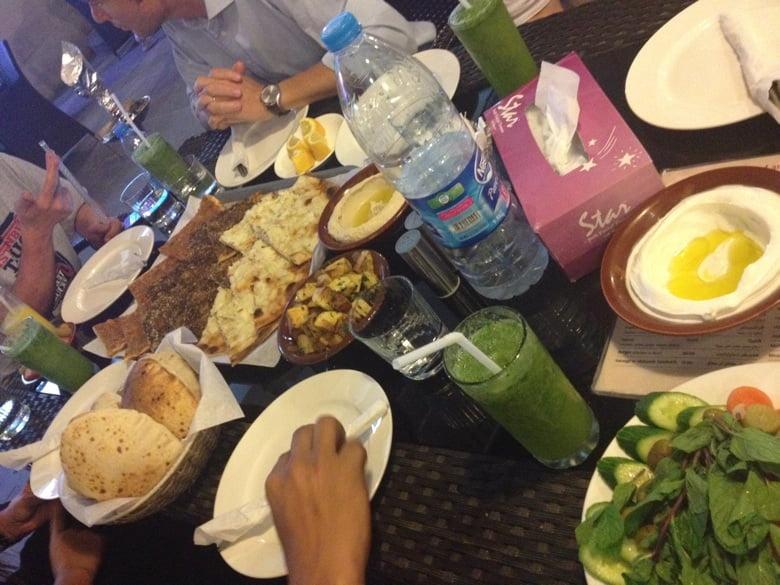 Dinnertime at Souq Waqif