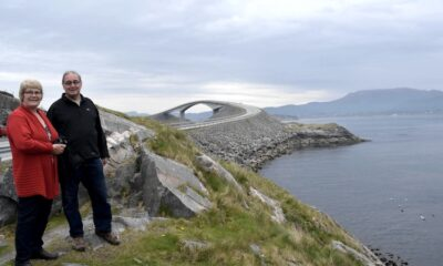 Parents on the Atlantic Road