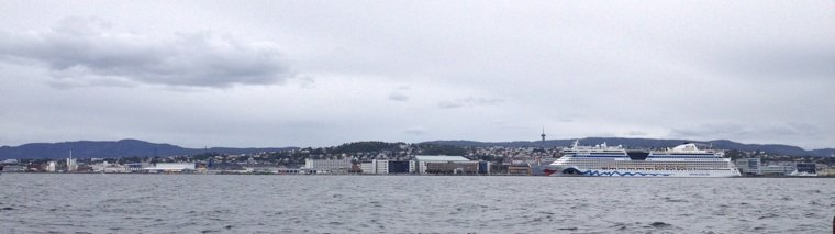 Trondheim from the water