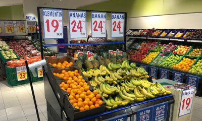 Inside a Rema 1000 Supermarket