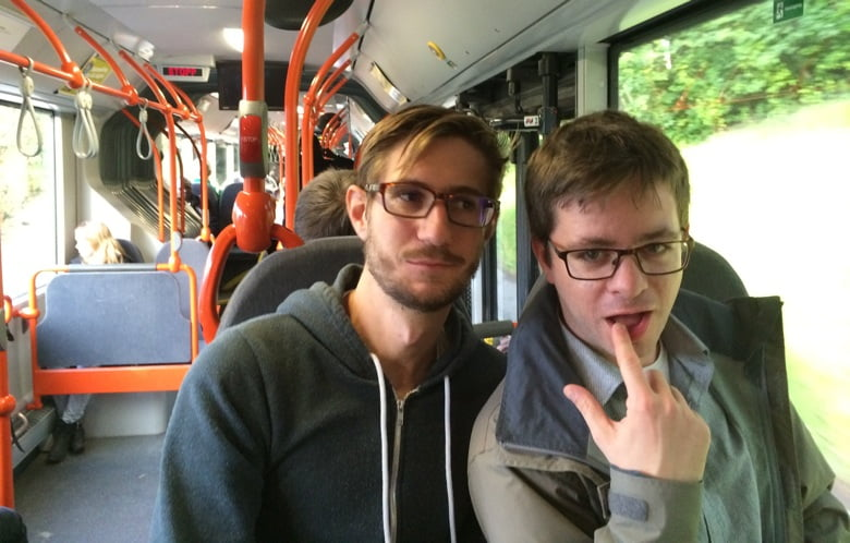 Bus to Skistua