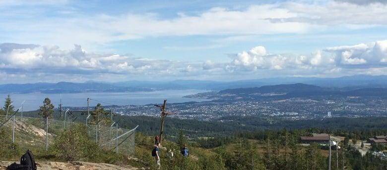 View from Gråkallen