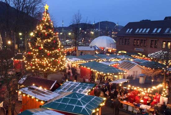 Christmas In Norway.Christmas Markets In Norway Life In Norway
