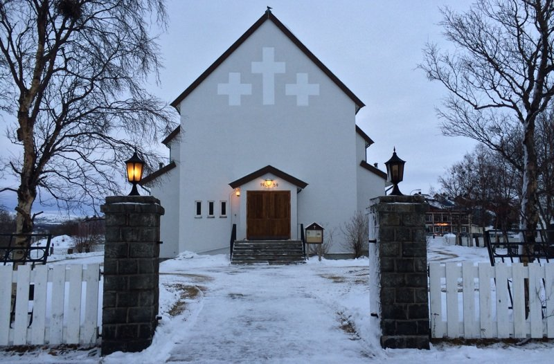 Kirkenes Church in northern Norway