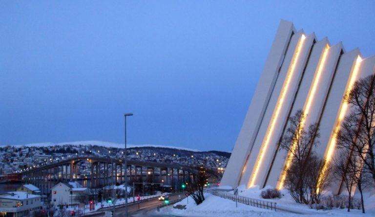 Arctic Cathedral in Tromsø