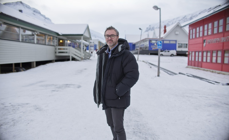 Eirik Palm, redaktør Svalbardposten.