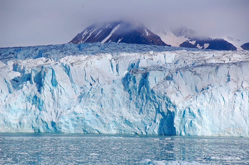 An iceberg in Svalbard