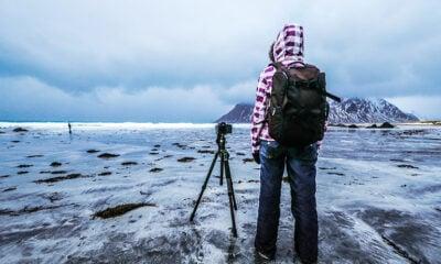 Working in the Lofoten islands