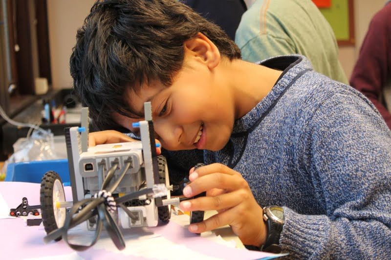 A student at the ISS Stavanger