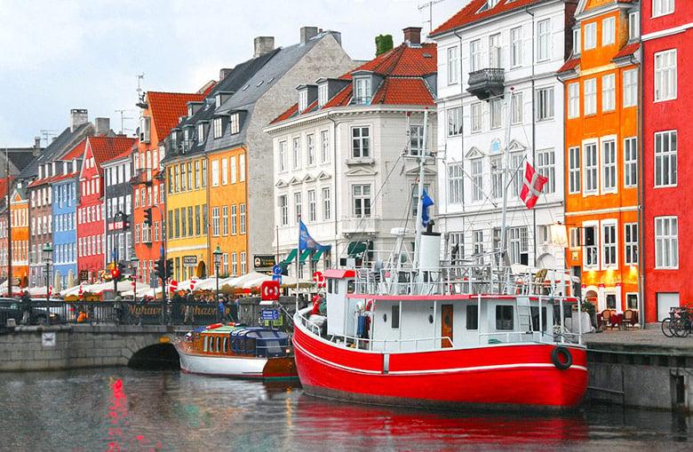 Copenhagen in Denmark
