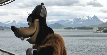 Frozen cruise Norway
