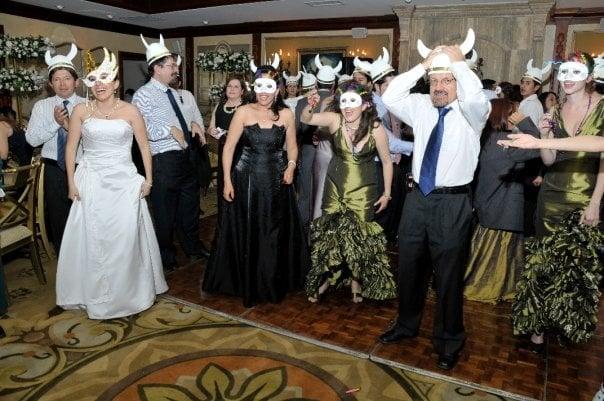 Latin Viking Wedding