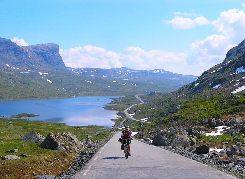 Cycling in Rural Norway